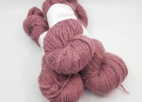 Llama/Merino Blend -Flamingo Pink-