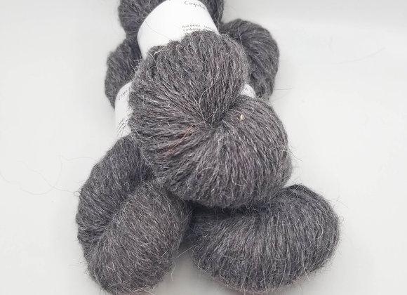 Llama/Merino Blend -Fossil Grey-