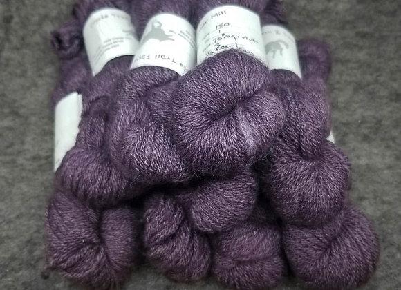 Qiviut Pearl Blend-Royal Purple-70% Qiviut