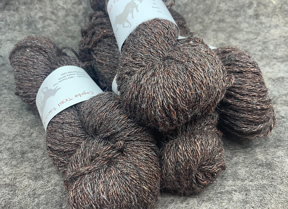 Shetland Sparkle Blend -Grey and Brown-