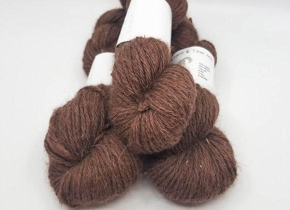 Llama/Merino Blend -Auburn-