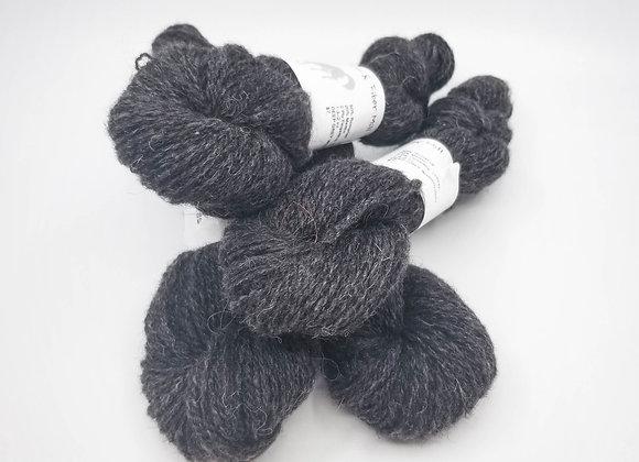 80% Romanoff/ 20% Merino -Deep Grey-