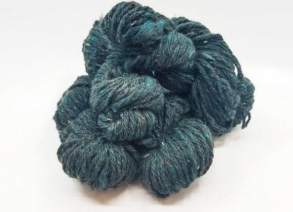 Llama/Merino Blend -Seaweed Green-