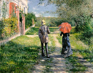 Gustave Caillebotte peintre jardinier