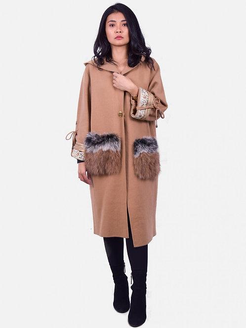 Ophelia Coat Camel