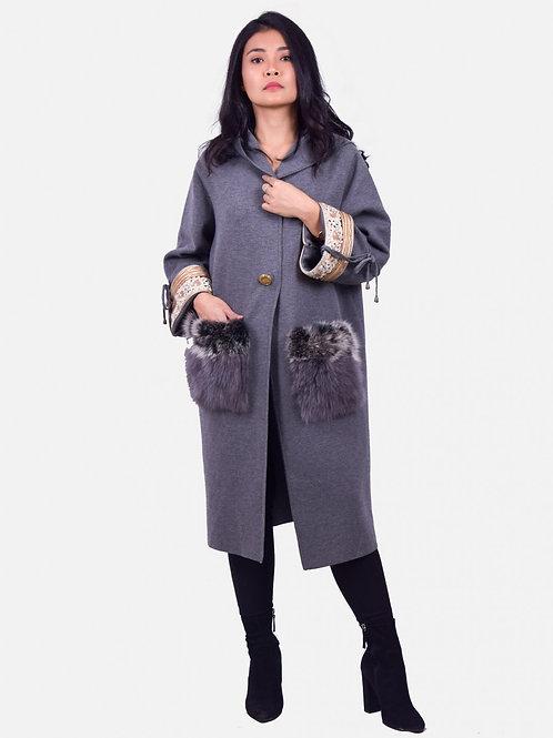 Ophelia Coat Grey
