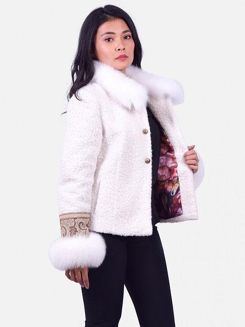 Pina Coat Fur White