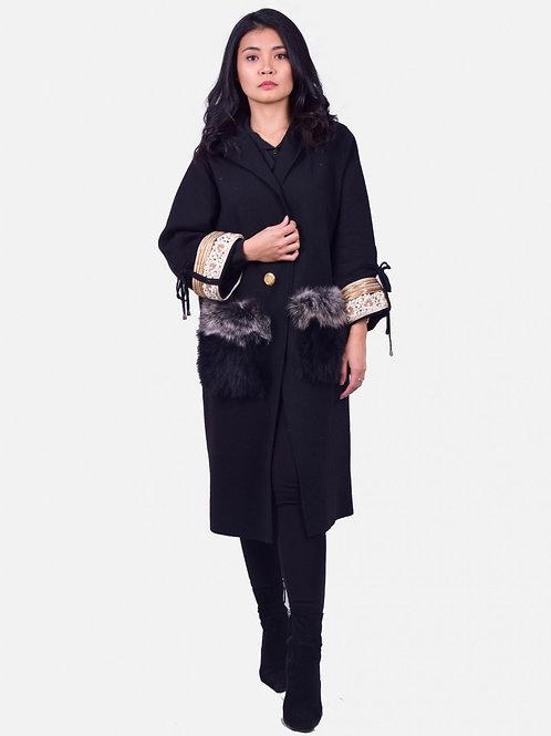 Ophelia Coat Black
