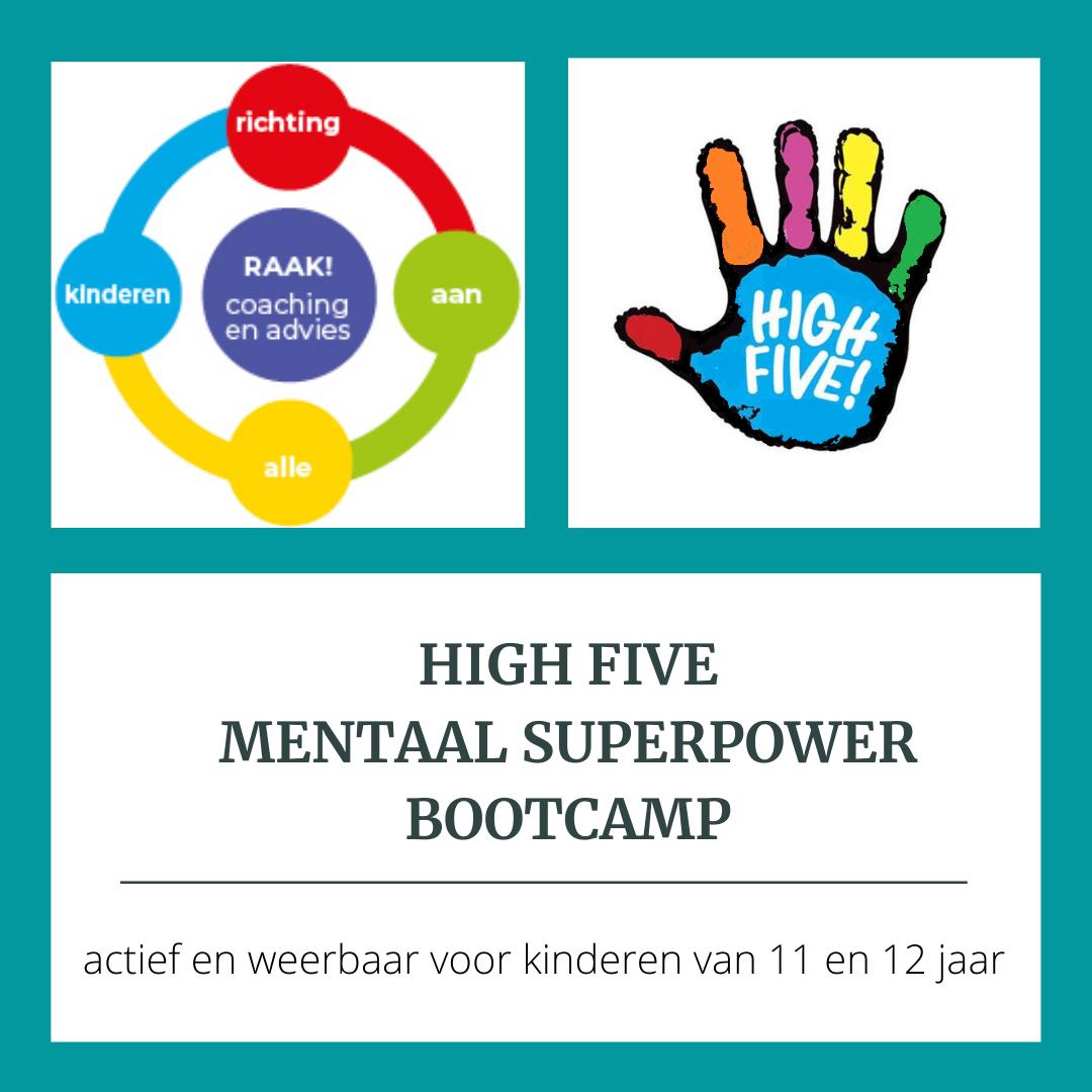 High Five Superpower bootcamp