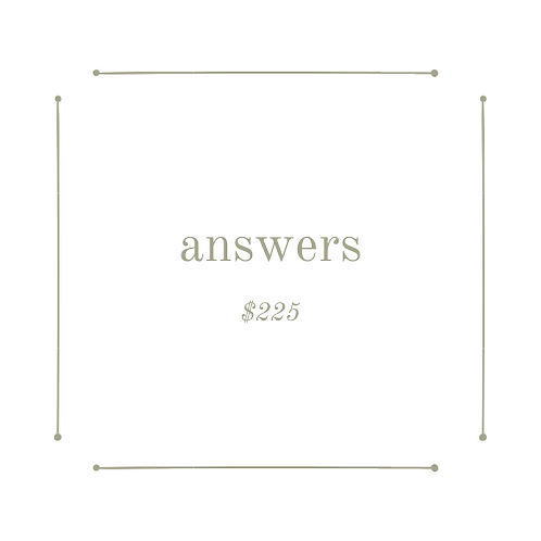 answers package