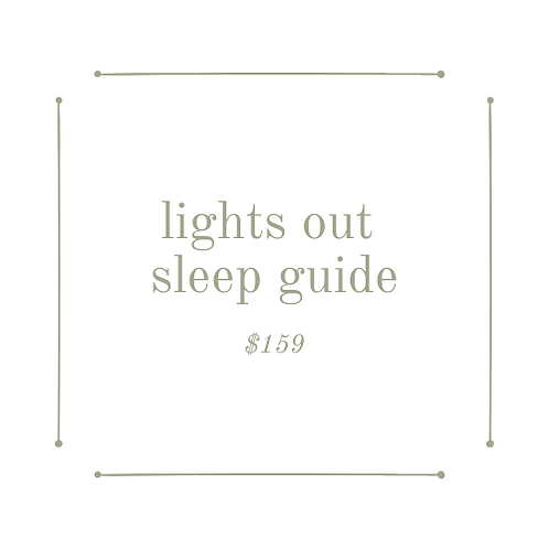 lights out sleep guide