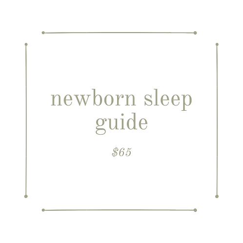 newborn sleep guide