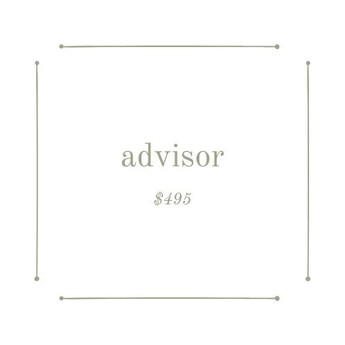 advisor package