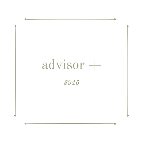 advisor+package