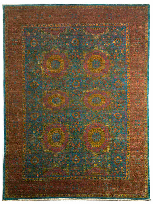 Handmade Mamluk Design Rug