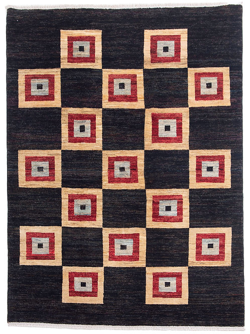 Handmade Afghan Gabbeh Rug