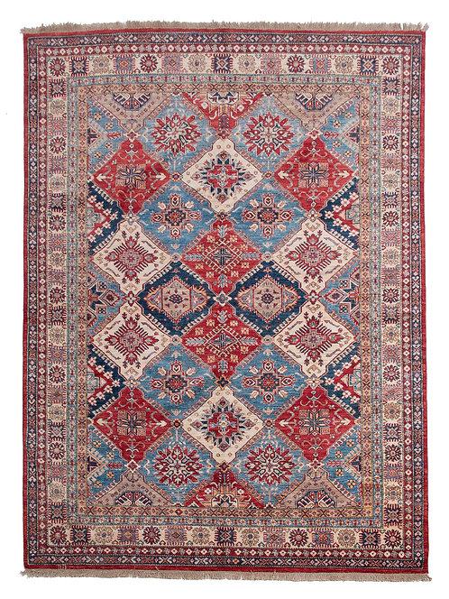 Handmade Afghan Kazak Rug