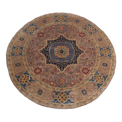 Handmade Chobi Round Rug