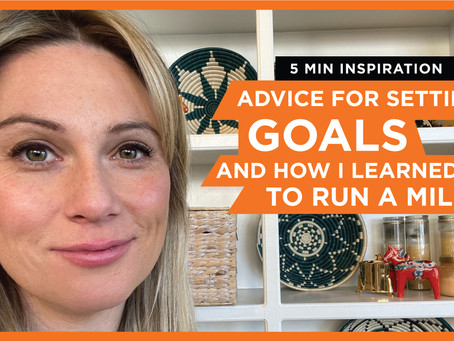 Setting Goals & How I Learned To Run A Mile... Let's Slow Down