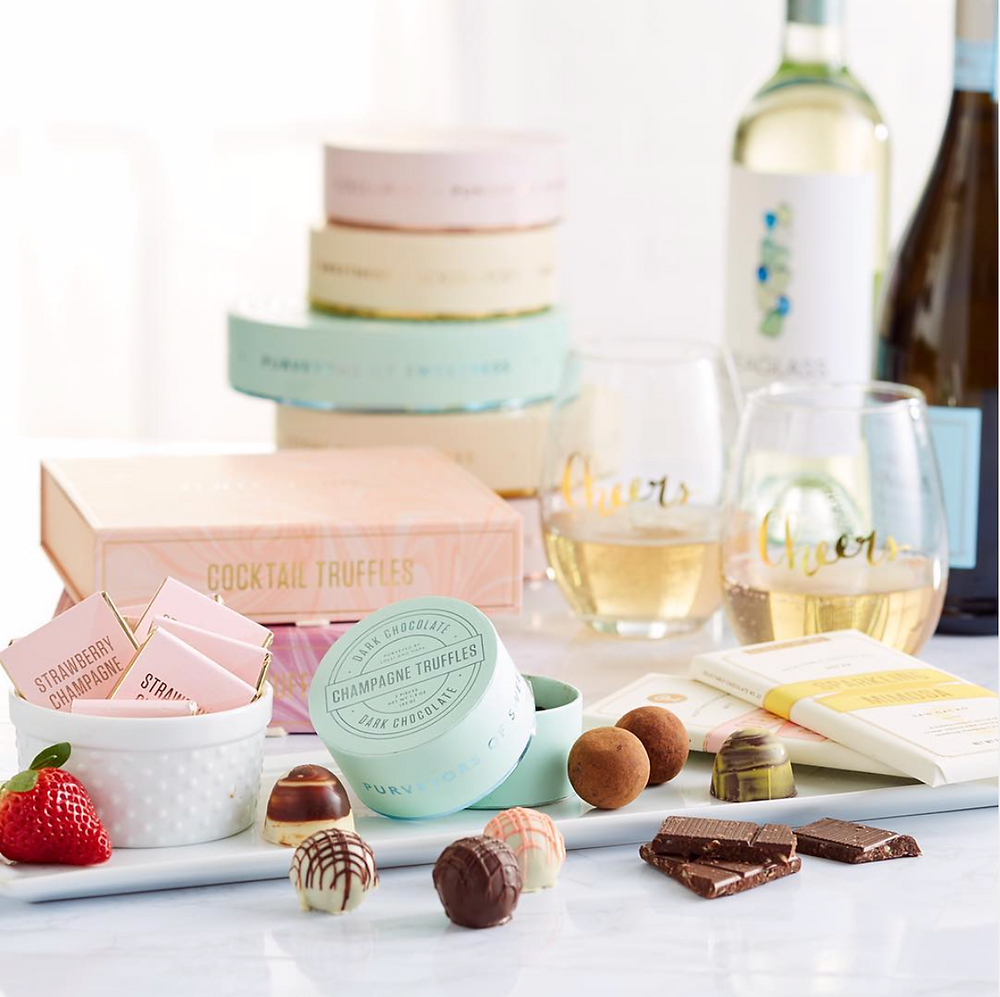 Entertaining is so easy and sweet with Lolli's Truffle Boxes and Assorted Luxury Candies!
