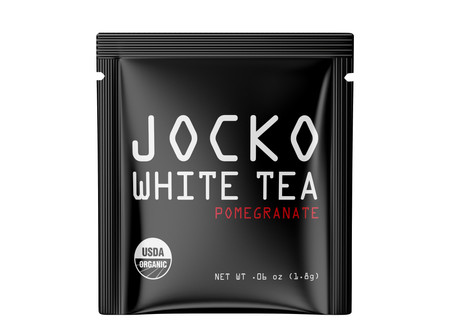 Jocko White Tea printed film overwrap for Jocko Podcast