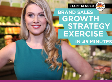 ADVICE: Brand Sales Growth Strategy Exercise in 45 Minutes