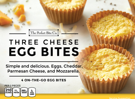 The Perfect Bite Co. Egg Bites Bring Yummy Healthy Breakfast Home