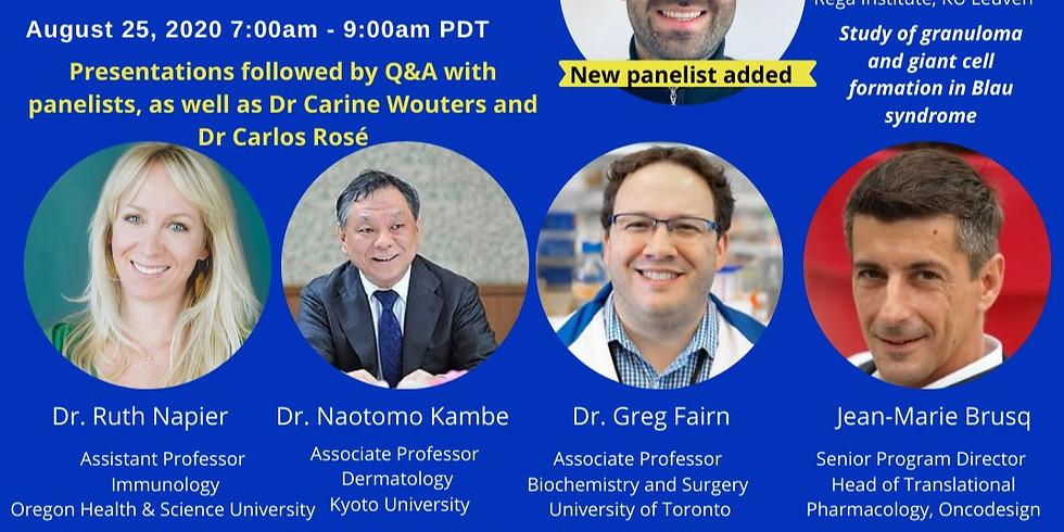 Virtual Blau Syndrome Research Panel