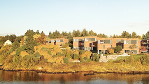 Nygårdsneset, Karmøy. 34 Units.
