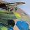 Thumbnail: Rhone Üzerinde Yıldızlı Gece Üçgen Küpe