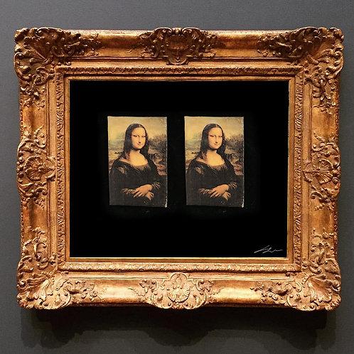 Mona Lisa Deri Küpe