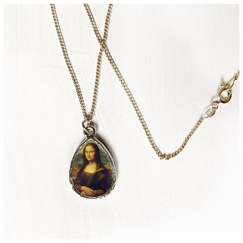 Mona Lisa Gümüş Kolye