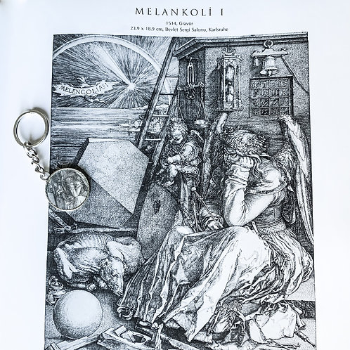 Dürer Melankoli Anahtarlık