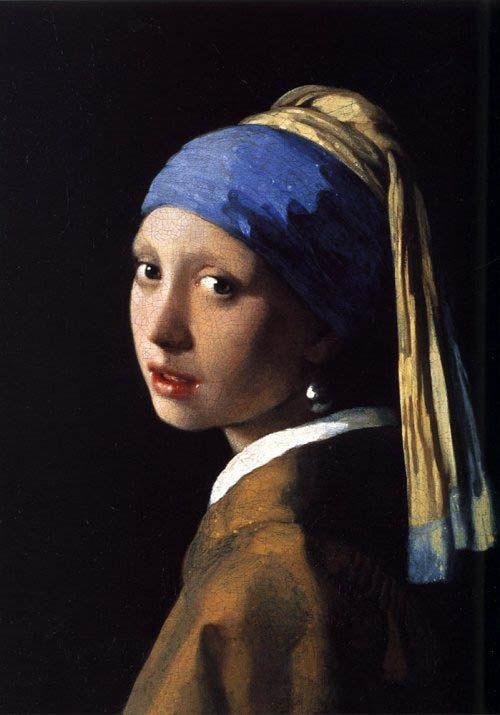 Vermeer Girl with Pearl earrings