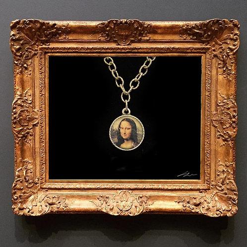 Mona Lisa Büyük Kolye