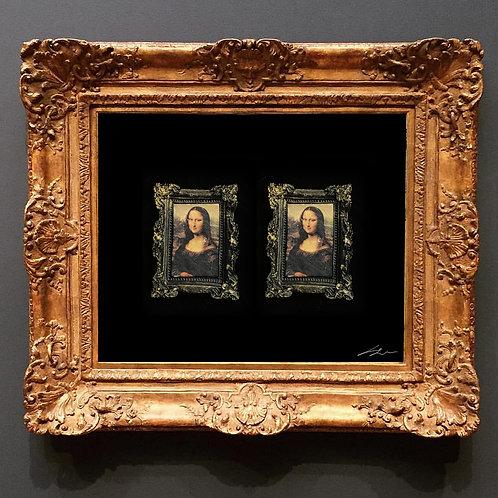 Mona Lisa Çerçeveli Küpe