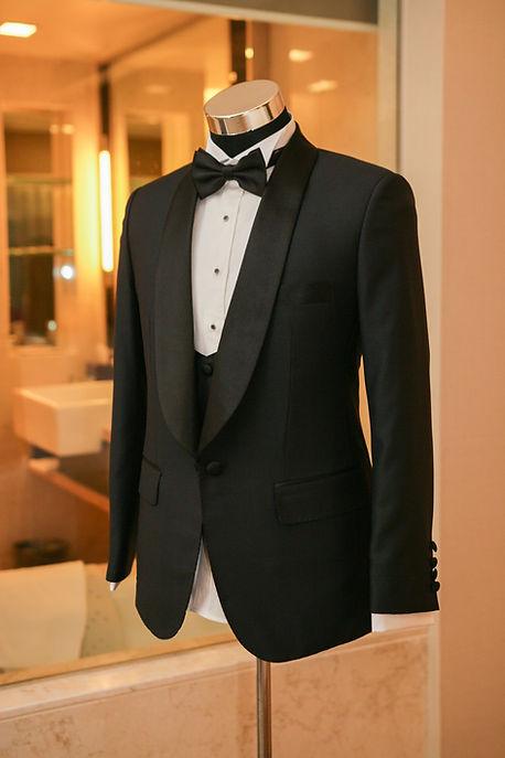 Three piece tuxedo