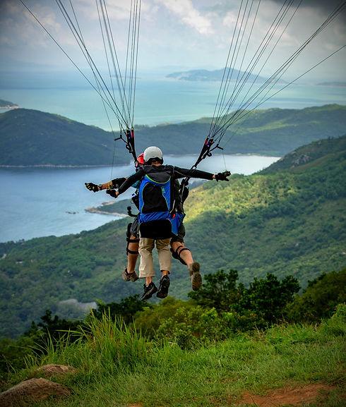 Hongkong Hike N Fly Lantau Paragliding.j
