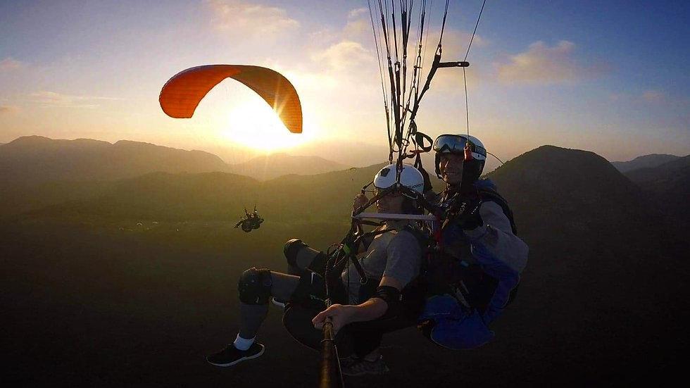 Hongkong Hike N Fly paragliding Ma On Sh