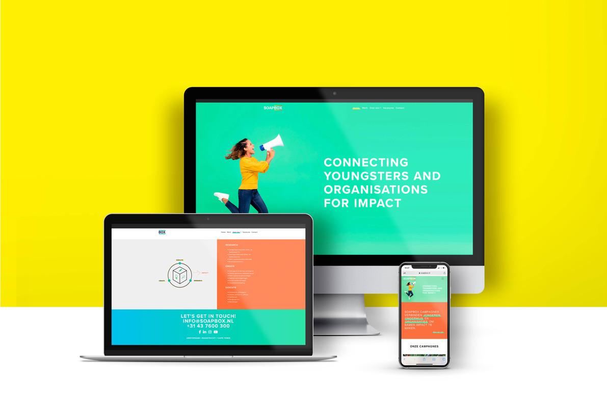 Soapbox | Brand identity + Website