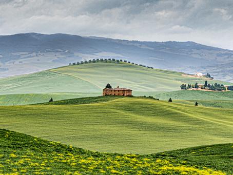 Toscana er en nytelse for øye og gane!