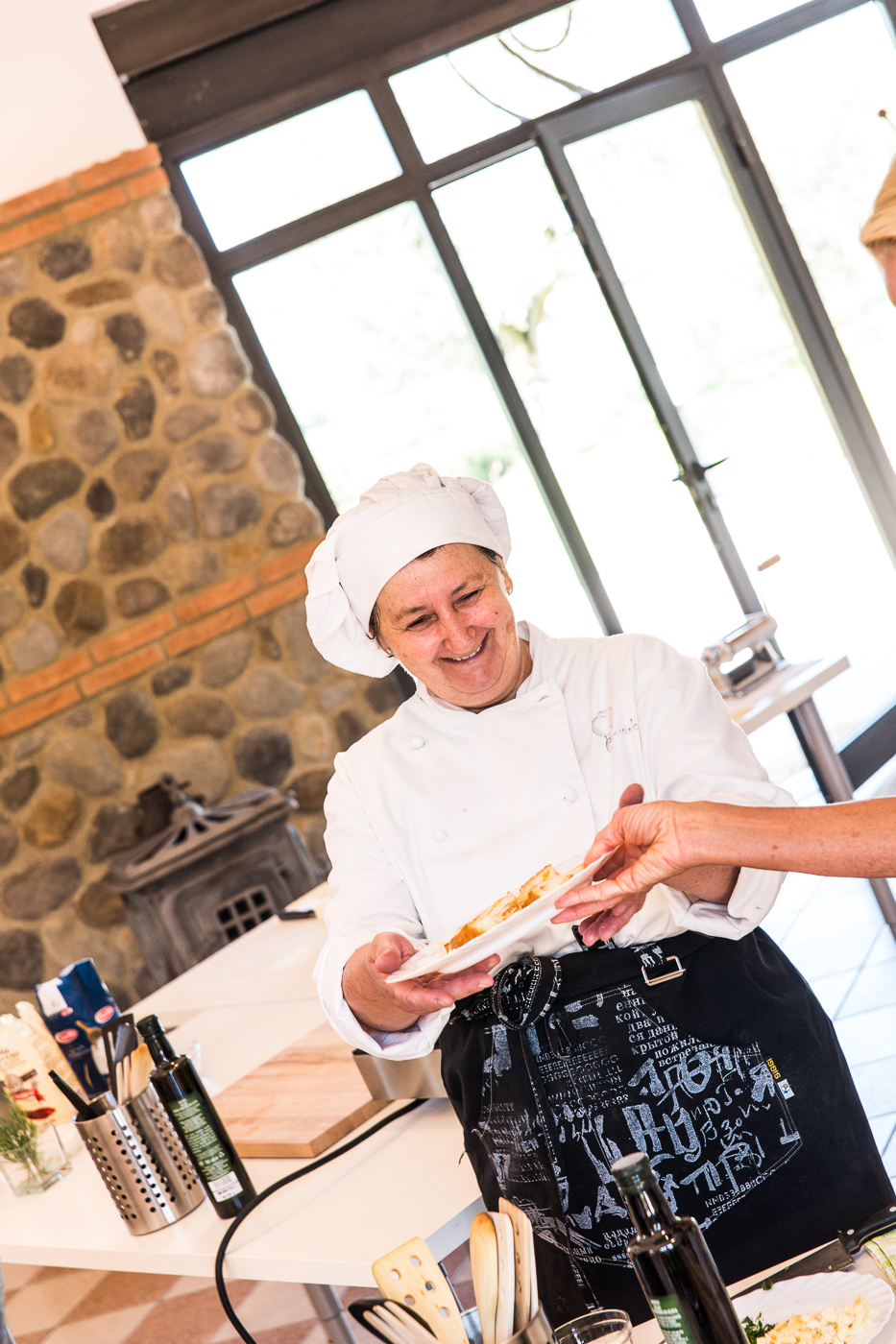 Mat og vifotografering i Italia