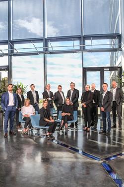 Gruppefoto av ansatte/ledere