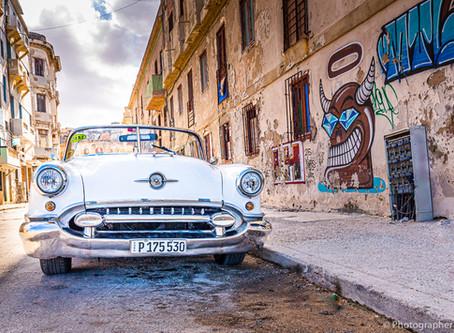 Første gang til Havana, Cuba!