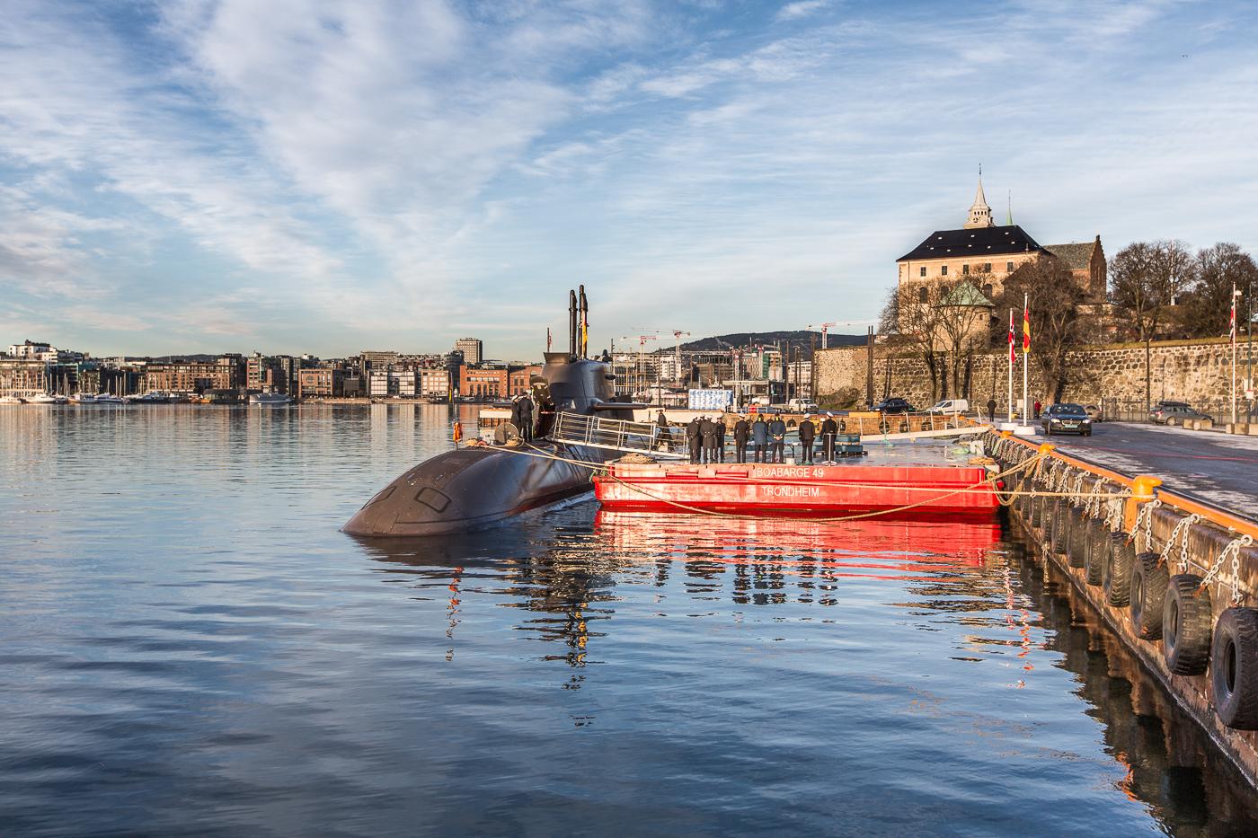 Ubåtbesøk i Oslo