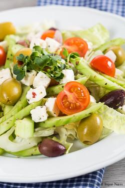 Matfotografering av salater i Oslo