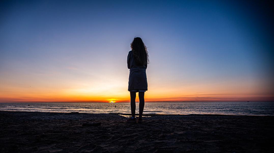 Solnedgang Skagen 3