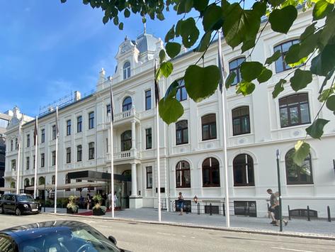 Hotell Britannia, med nogåt at åt i Trondheim.
