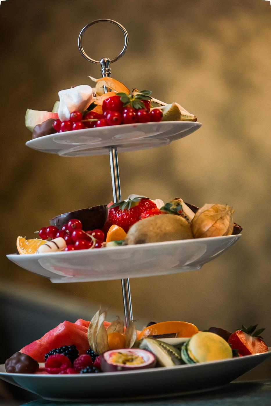 Mat og vinfotografering