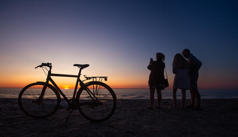 Solnedgang Skagen 2